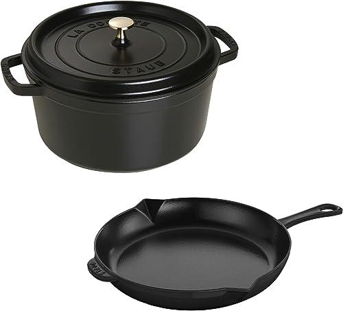 Staub Cast Iron Cookware Set