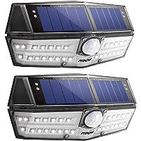 Mpow Solarlampe für Außen【Innovative Version】 30 LED Solarleuchte mit Bewegungsmelder IP67 Wasserdicht, SunPower Solarlicht