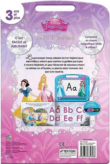 Disney Lettres De Princesses /Écrire Et Dessiner