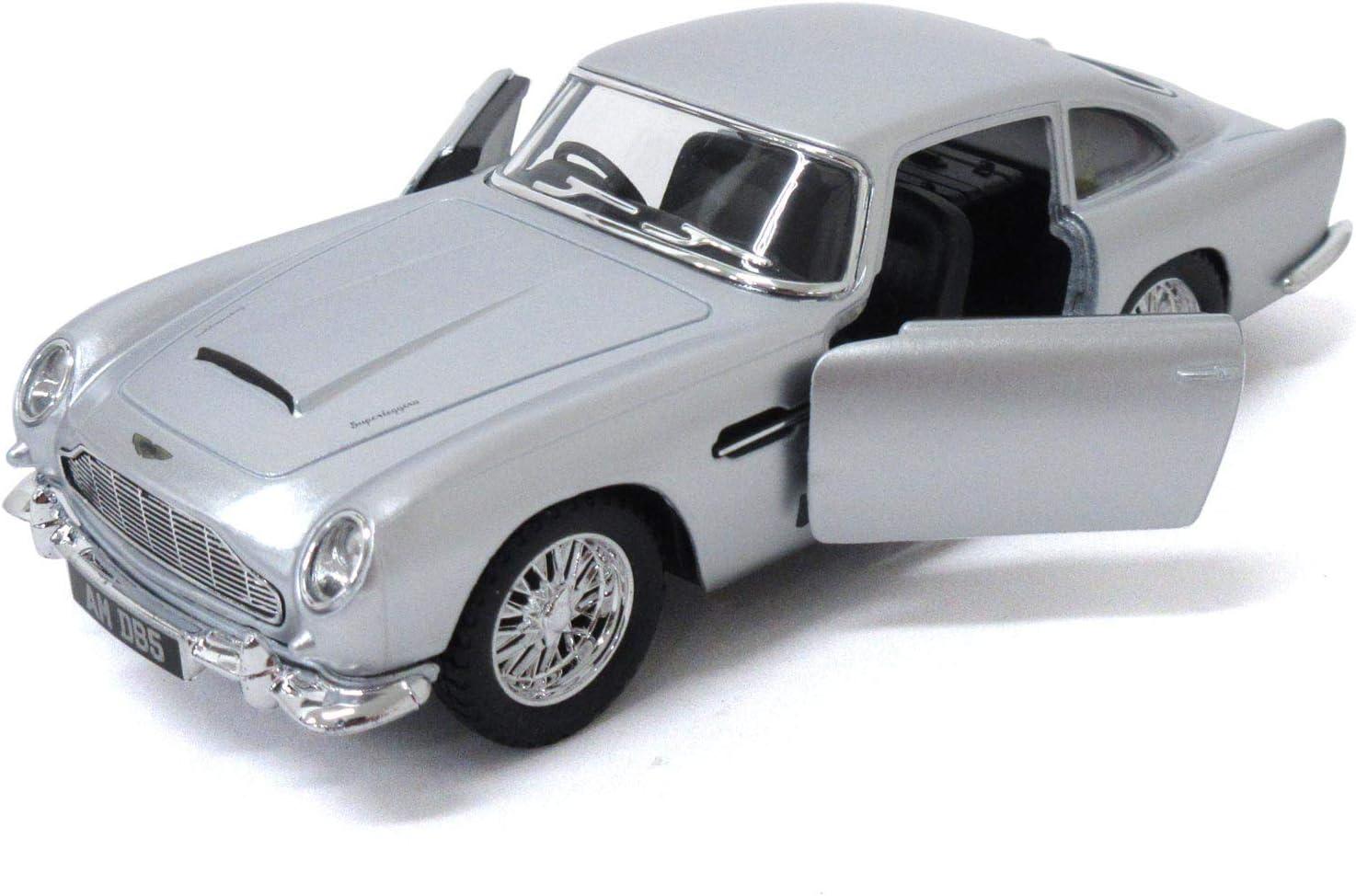 Kinsmart Aston Martin Db5 Modellauto Maßstab 1 38 Metalldruckguss öffnungstüren Detailliert Amazon De Spielzeug