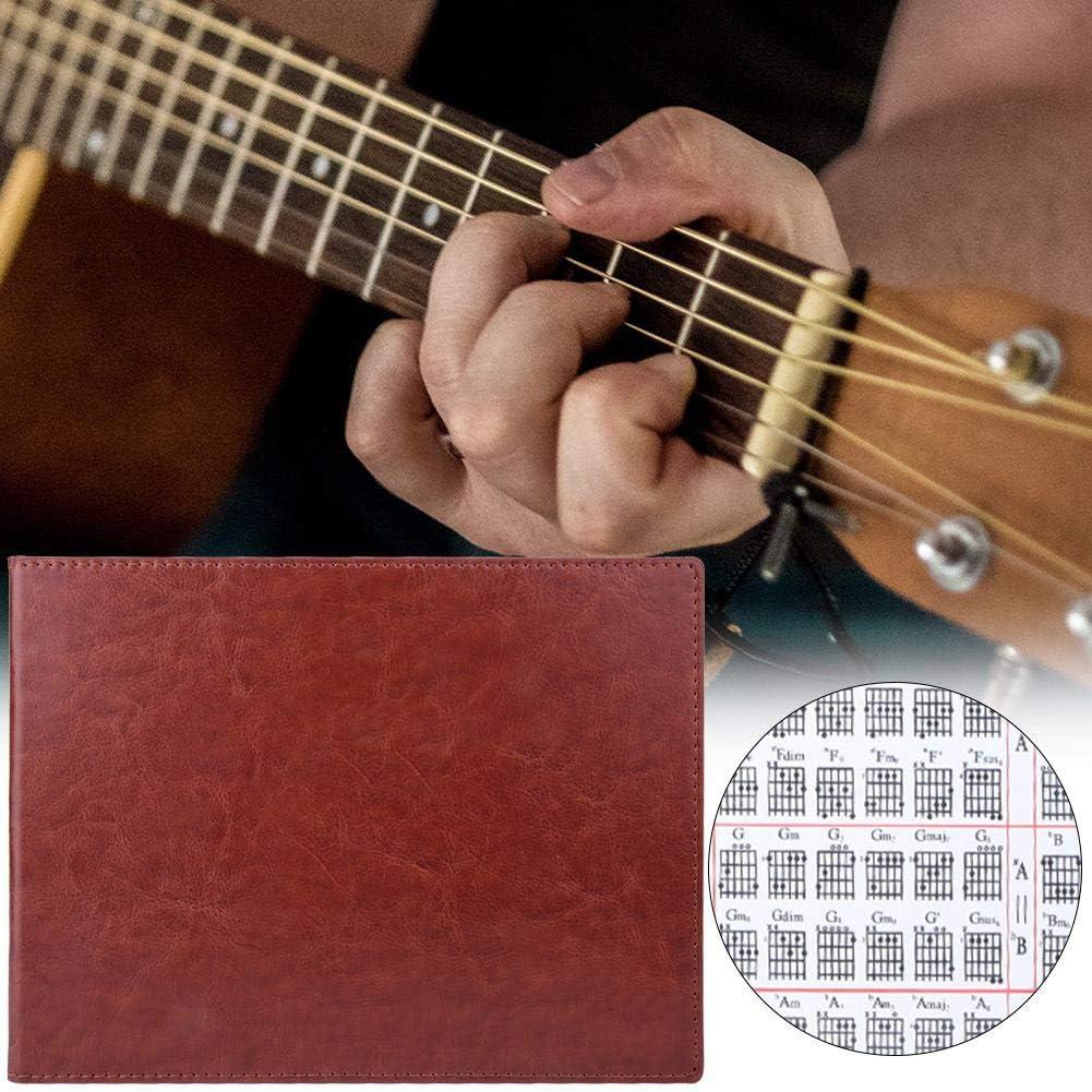 Tabla de acordes de guitarra Conveniente 6 cuerdas Diagrama de cuerda de guitarra Lecciones Música Ayuda para el aprendizaje Tarjeta de referencia Tabla de escala de guitarra Cartel Etiqueta: Amazon.es: Instrumentos musicales
