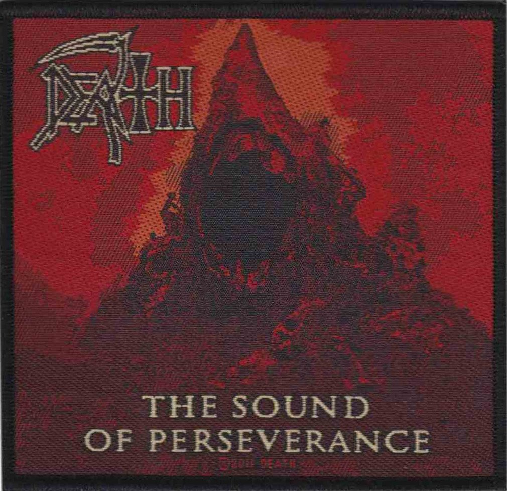 Death - (The) Sound of Perseverance Patch 10cm x 9.5cm