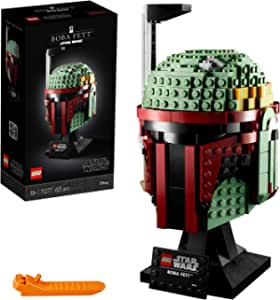 LEGO 75277 Star Wars Casco de Boba Fett Set de Construcción para Adultos Modelo de Coleccionista