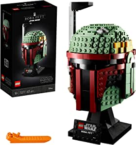 LEGO Star Wars - Casco de Boba Fett, Set de Construcción Coleccionable del Caza Recompensas de la Guerra de las Galaxias (75277)