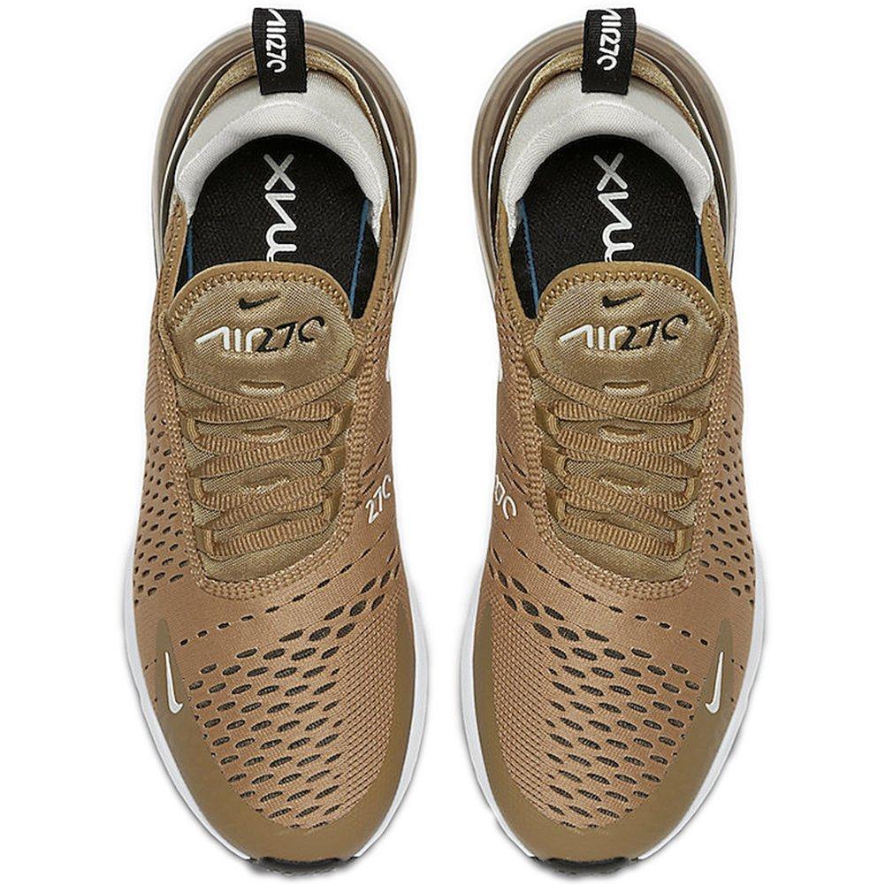 Nike Schuhe – Air Max 270 GoldenSchwarzWeiß Größe: 45.5