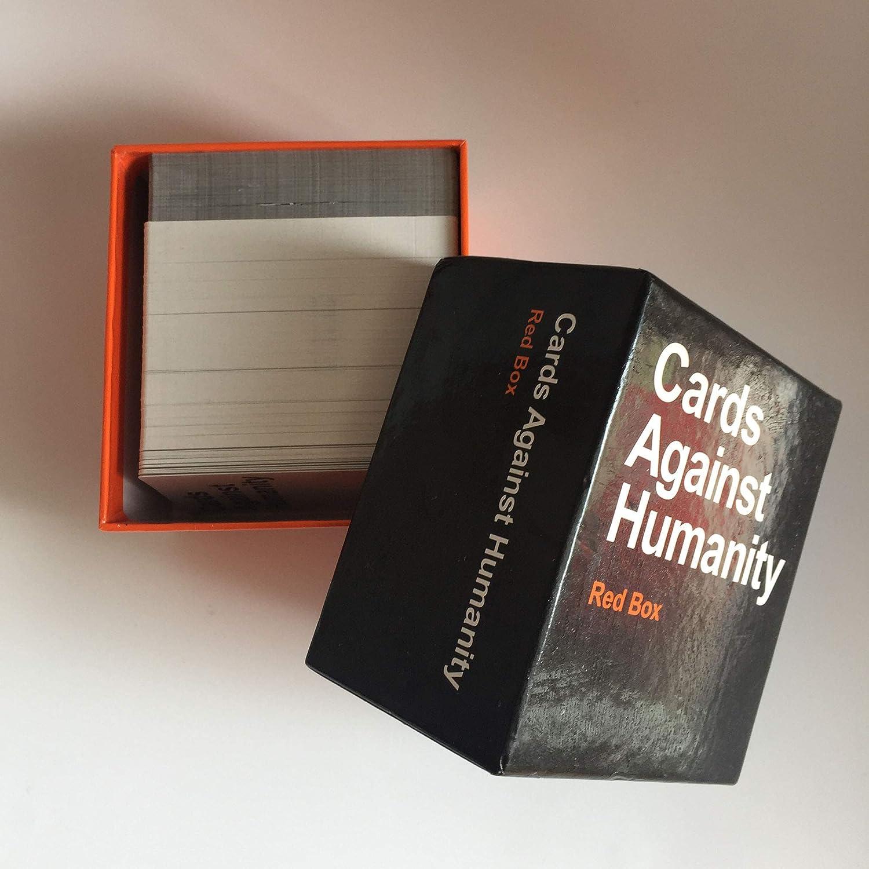 Wansheng Juegos de Cartas para Adultos/Cartas contra la Humanidad: Caja roja/Juegos de Fiesta: Amazon.es: Hogar