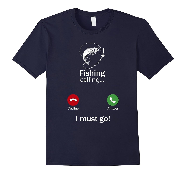 Calling For Hobbies Love Fishing Hobby Funny T-Shirt-TJ