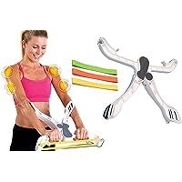 takestop Wonder Arms entraînement biceps Tonus musculaire corps triceps Bras Épaules Dos Pliable Portable Fitness Gym