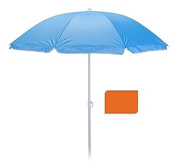 6 Farben Sonnenschirm Strandschirm Gartenschirm Balkonschirm Sonnenschutz Schirm