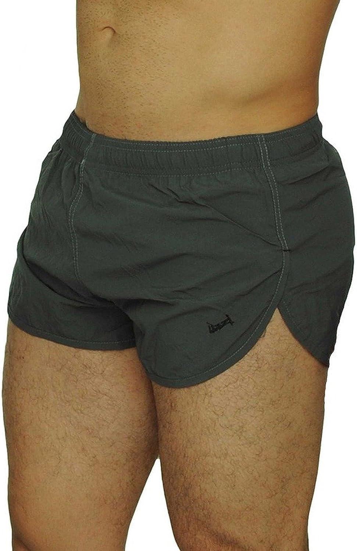 Uzzi Men/'S American Flag And Nylon Swimwear Running Shorts