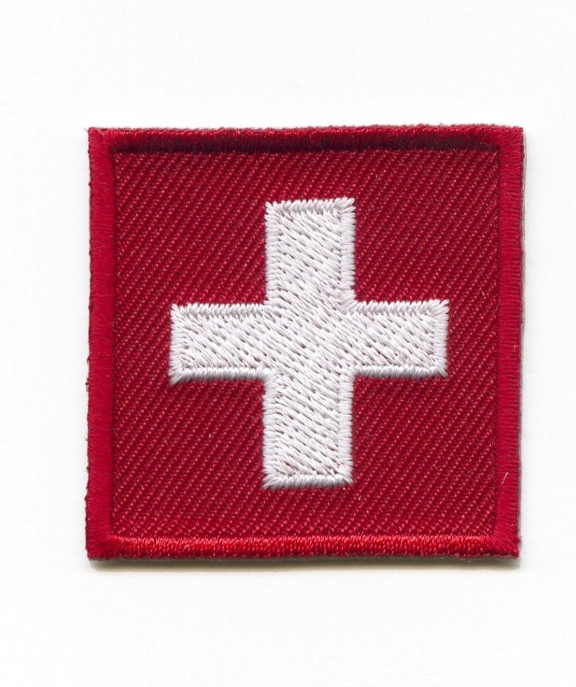 Toppa con bandiera della Svizzera hegibaer K-7