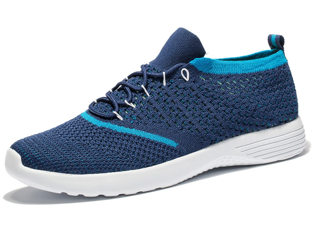 Tianui Men's Running Shoes Fashion Breathable Sneakers Casual Athletic Lightweight Walking Shoes