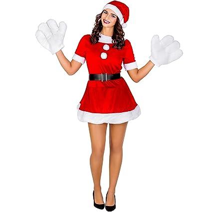 dressforfun Costume da donna - Elfo sexy natalizio  8a7e1aec97db