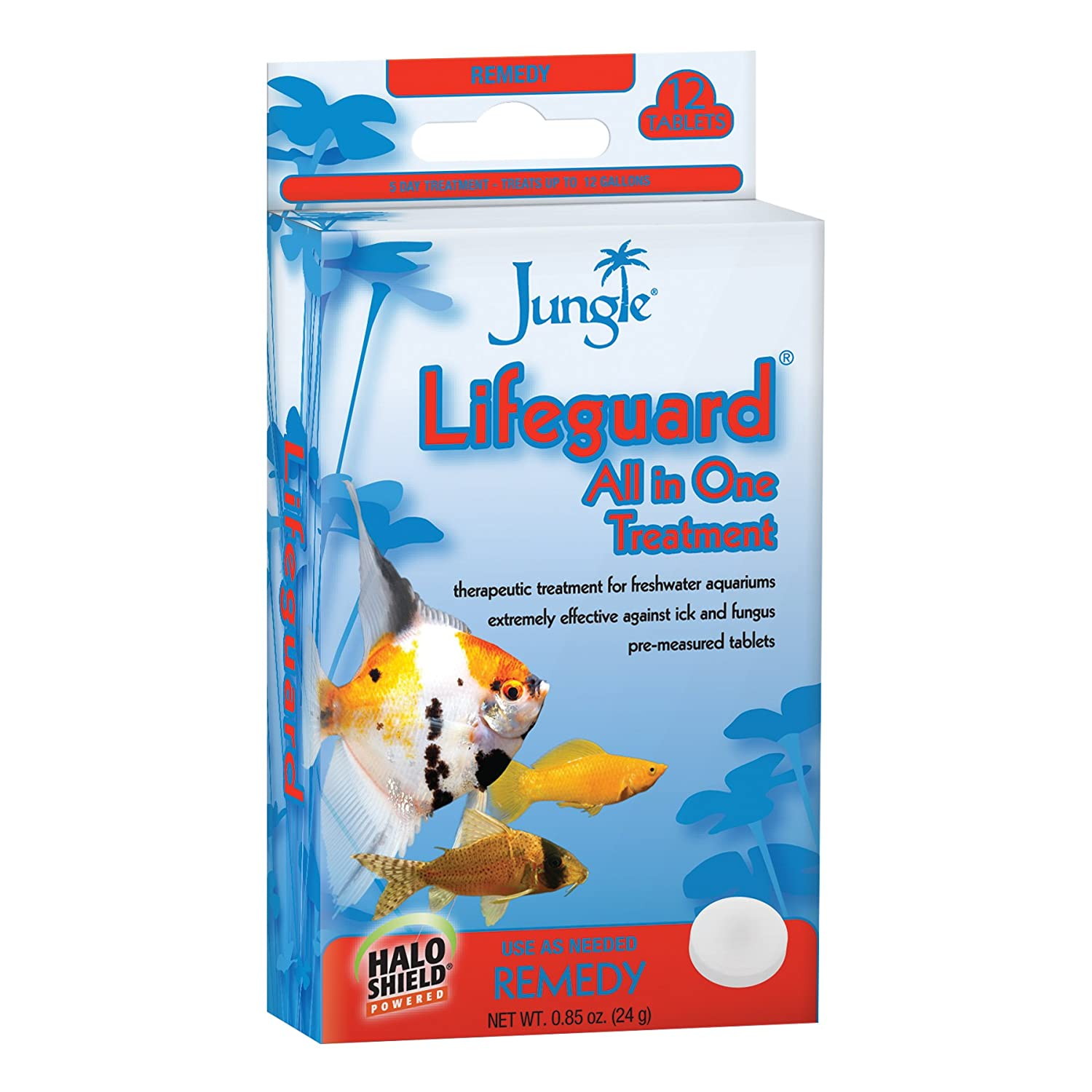tt101 W de la selva Jungle Lifeguard, 12-tablets, 12 pestañas: Amazon.es: Productos para mascotas