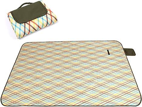 ZDTXKJ Outdoor Picnic Blanket Water-Resistant Beach Blanket Tent mat Widened Picnic Cloth,Color 10,15080cm