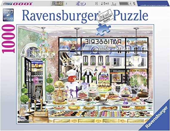 Ravensburger Bonjour Paris Puzzle 1000 Pz - Fantasy, Puzzle ...
