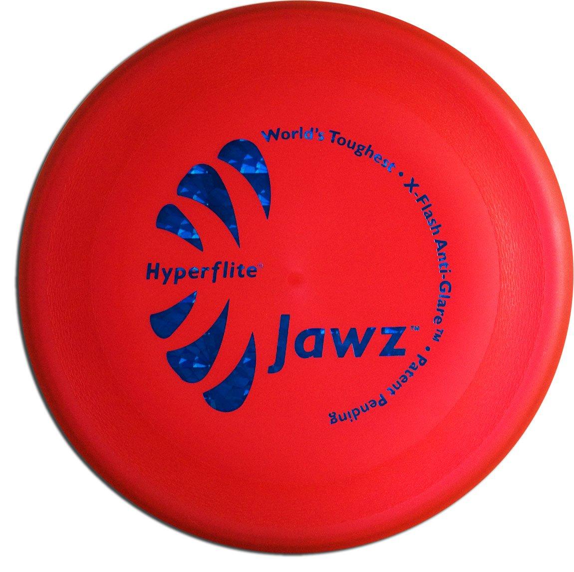 Frisbee para Perros Grado Competicion Hyperflite Jawz 22cm. Resistente a Mordeduras Rojo