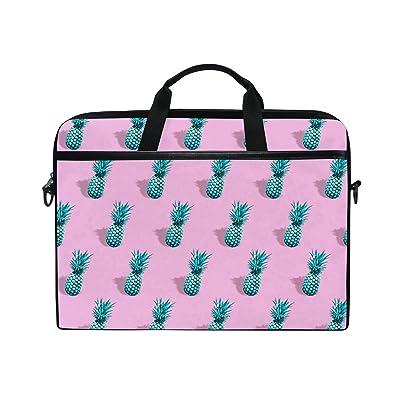AHOMY Pineapple Tropical Fruit 15 Inch Laptop Shoulder Sleeve Messenger Bag Case