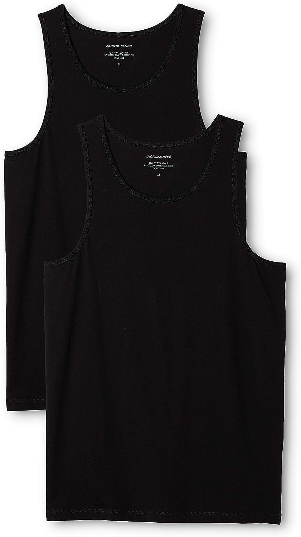 Jack & Jones Camiseta sin Mangas (Pack de 2) para Hombre