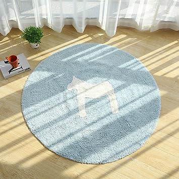 Amazon De T Homeidea Teppich Nordischer Baumwoll Teppich Weiche