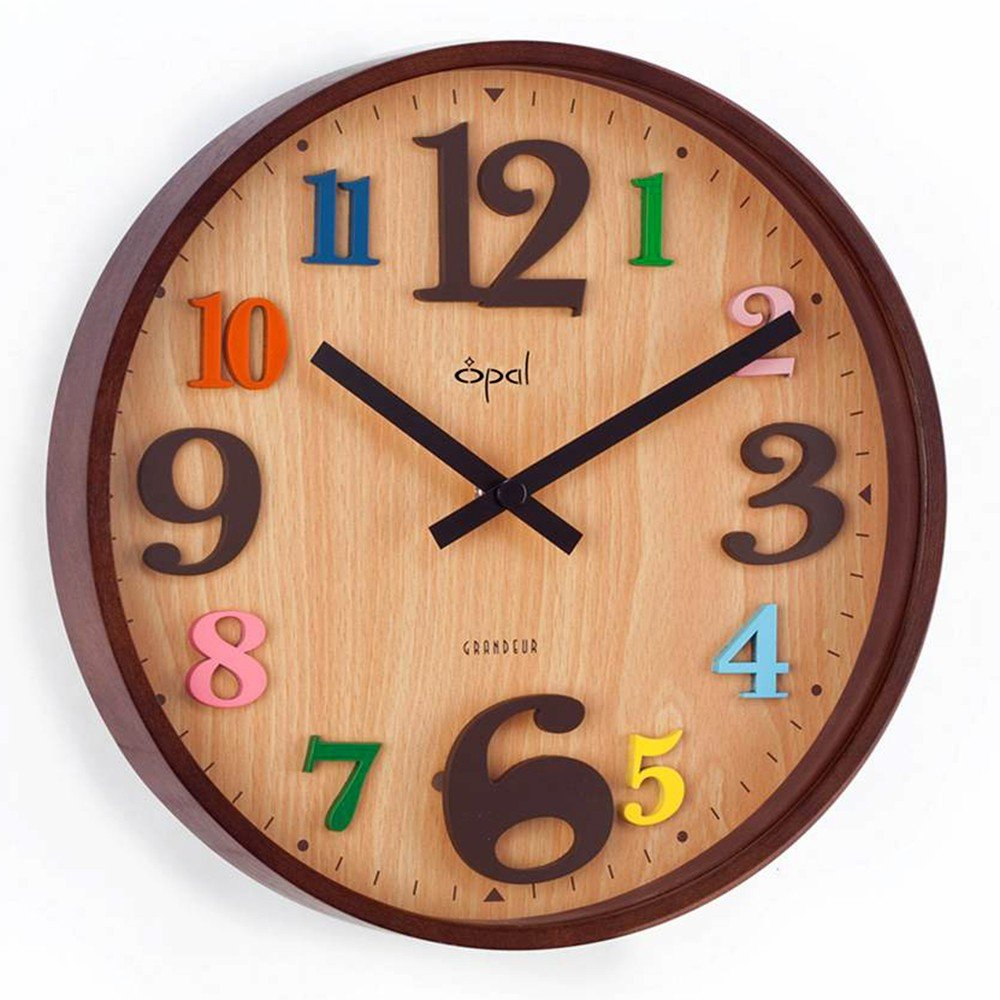 Buy opal wall clock online at low prices in india amazon amipublicfo Choice Image