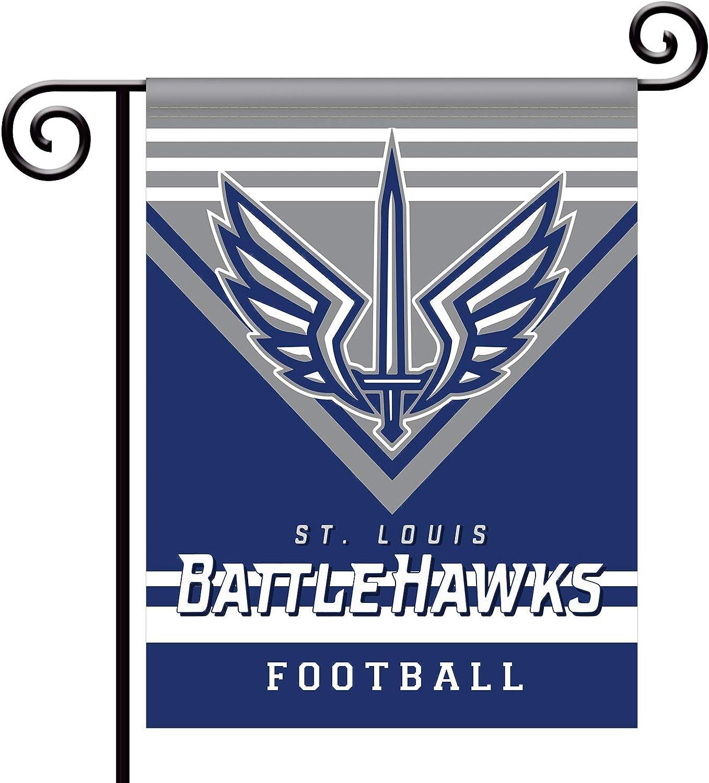 ZEWLLY XFL Teams 13/'/' x 18/'(34cm x 45cm) Double Sided Fans Banner Champion Garden Flag