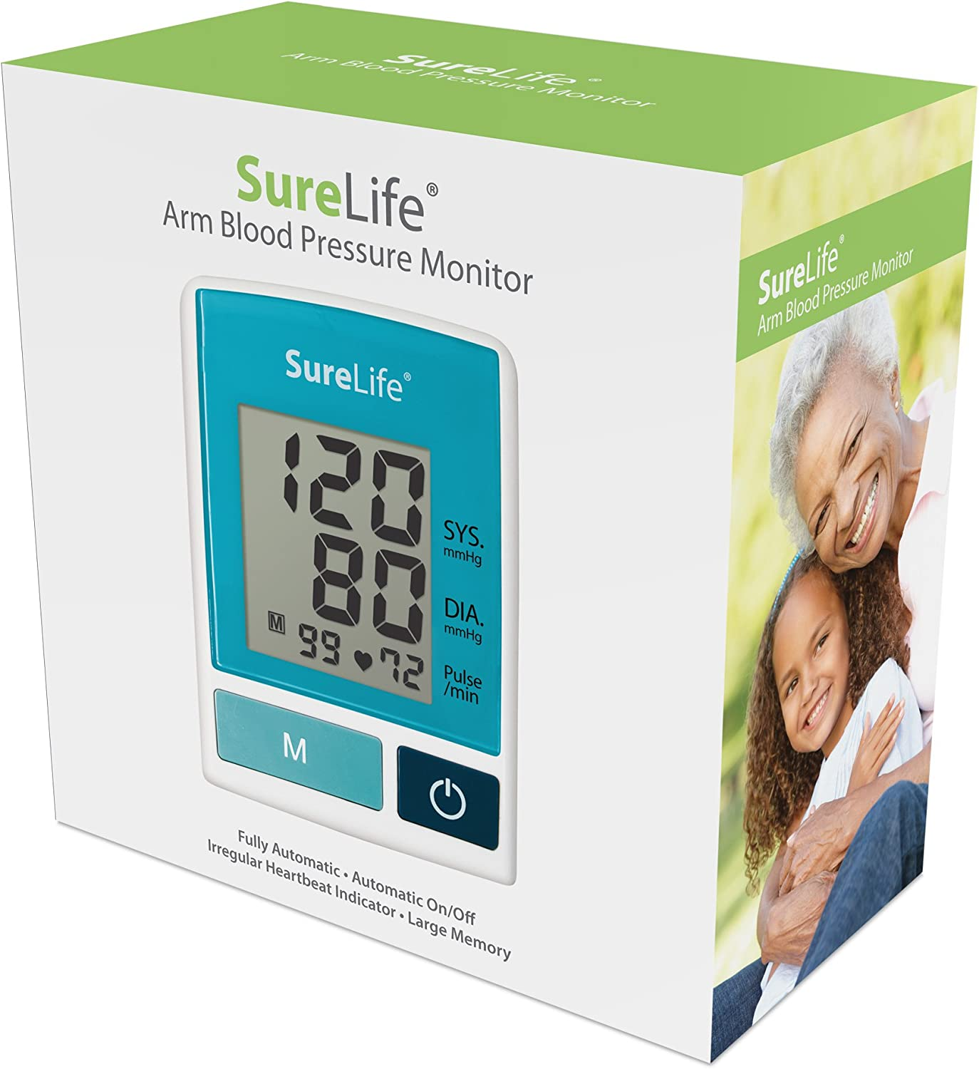 SureLife Classic Arm Blood Pressure Monitor w Regular Cuff – 1 per Box