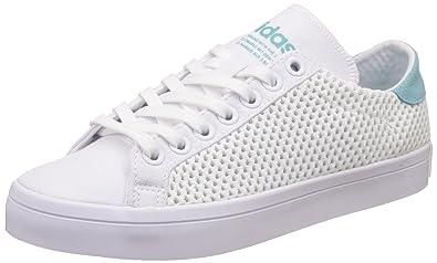 Adidas originali delle donne courtvantage w ftwwht e easmin cuoio