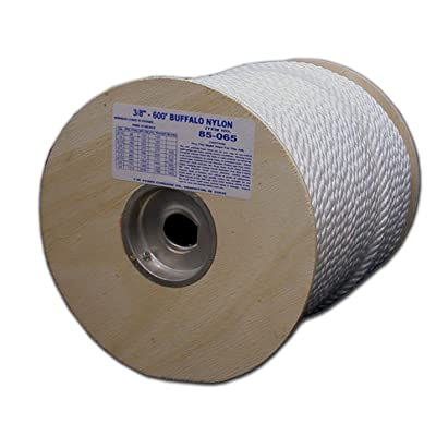 Tw Evans Cordage 85-050 Twisted Rope, 1/4 in Dia x 600' L