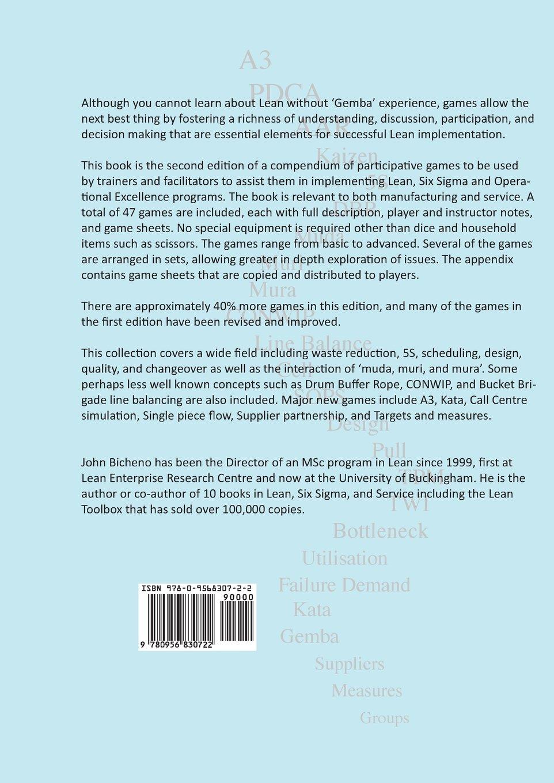 The Lean Games and Simulations Book: John Bicheno: 9780956830722:  Amazon.com: Books