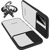 UNIOTEK Funda con Tapa Deslizable para Cámara Compatible con Samsung S21 Ultra Funda Protectora Antigolpe Carcasa PC y…