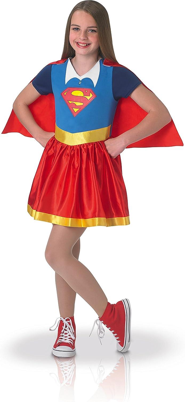 Rubies – Disfraz clásico Supergirl Superhero Girls – Talla S (3-4 ...