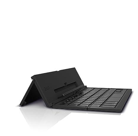 Zagg Pocket Keyboard Bluetooth Inglés Negro - Teclado (Bluetooth, Universal, Inglés, Inalámbrico