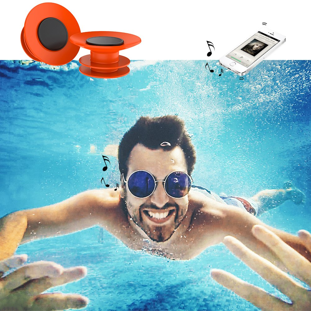Waterproof Swimming Ear Plugs for Surfer GOOQ Soft Silicone Earplugs Swimmer and Other Water Sports