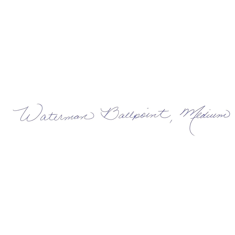 Waterman S0920470 Hémisphère-Kugelschreiber (Strichstärke M, edelstahlfarben mit Palladiumzierteilen, blaue Tinte) Tinte) Tinte) B004NSDT4E | Attraktives Aussehen  2d68c1