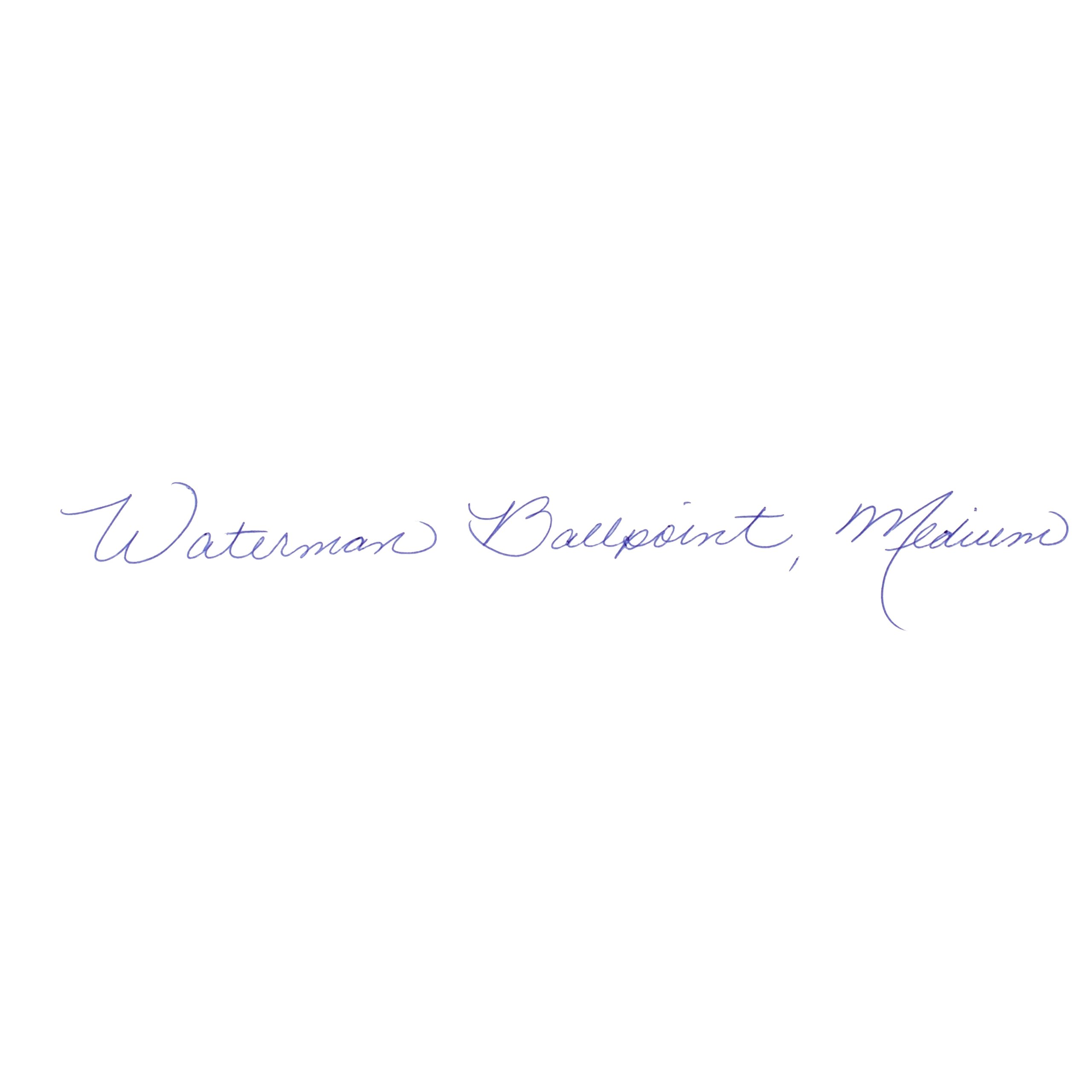 Waterman Expert Ballpoint Pen, Gloss Black with Chrome Trim, Medium Point with Blue Ink Cartridge, Gift Box by Waterman (Image #5)