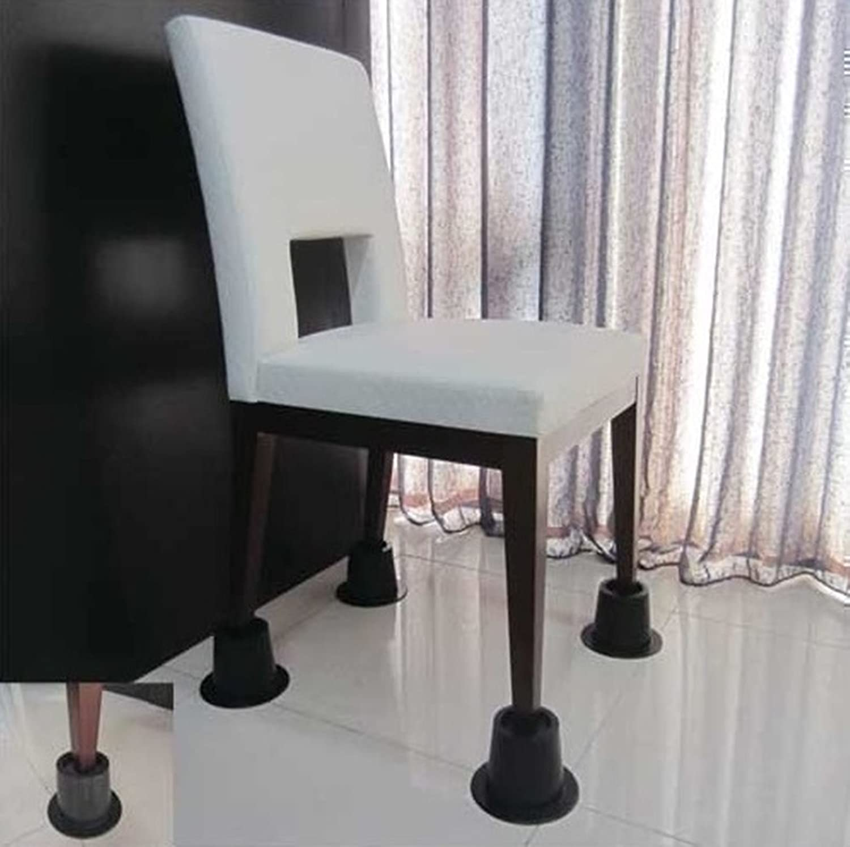 4 Cone Chair Risers Elephant Feet Leg Lift Furniture Extra Raisers