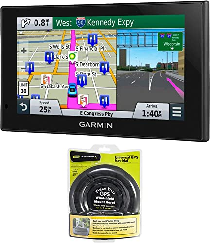 Garmin nuvi 2699LMT HD 6-Inch GPS with Lifetime Maps HD Traffic Friction Mount Bundle With nuvi 2689LMT and Portable Friction Mount