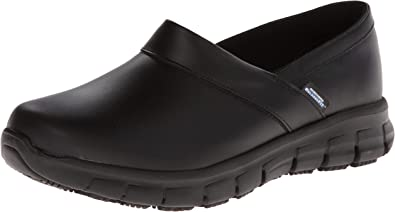 Relaxed Fit Slip Resistant Work Shoe