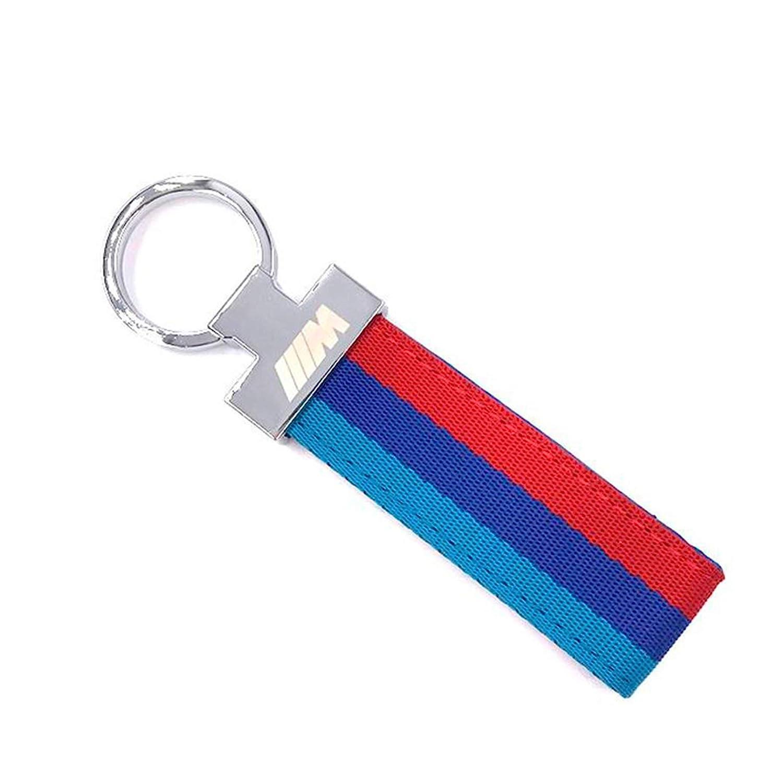 Portachiavi compatibile con M Sport Tela Tricolore