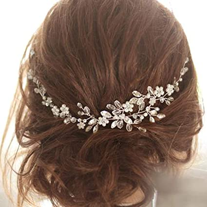 Bridal Hair Vine Crystal Wedding Vine Bride Bridesmaid Bridal Jewellery