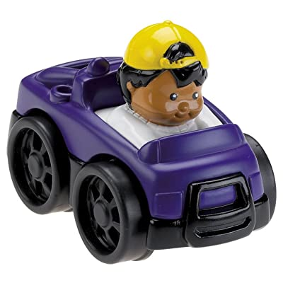 Fisher-Price Little People Wheelies Monster Truck: Toys & Games