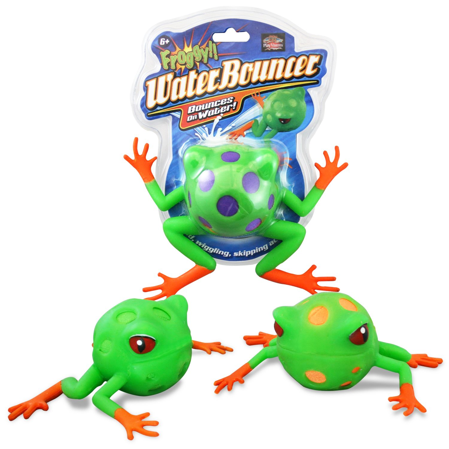 amazon com play visions froggy water bouncer comes in assorted