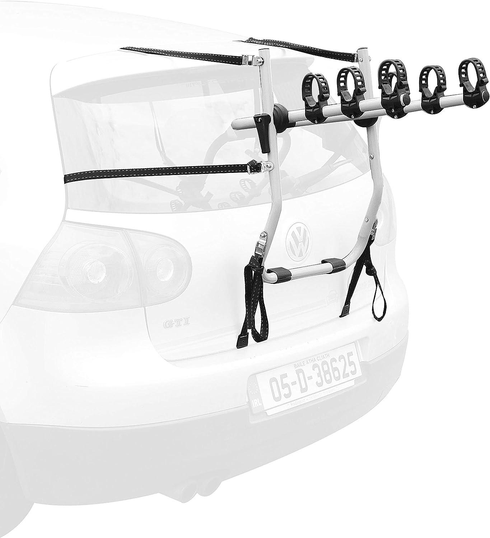 En parte trasera bicicleta Rack – 3 Portabicicletas para Peugeot ...