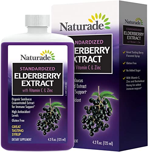 Naturade Standardized Elderberry Extract Syrup