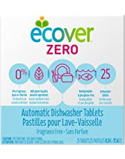 Ecover Automatic Dishwasher Soap Tablets, Fragrance Free, 25 Count