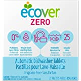 Ecover Automatic Dishwashing Tablets Zero, 25 Count, 17.6 Ounce
