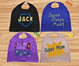 LYNDA SUTTON Little Girl Superhero Cape with