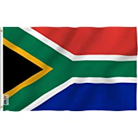 ANLEY Fly Breeze 3x5 Foot South Africa Flag - Vivid Color and Fade Proof - Canvas Header and Double Stitched - South…
