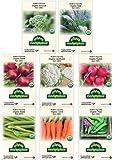 Premium Winter Vegetable Seeds Certified Organic Non-GMO Heirloom Seed Collection Broccoli, Beet, Carrot, Cauliflower…
